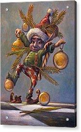 I Am A Tree Acrylic Print by Leonard Filgate