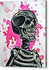 I Am Dead Inside  Acrylic Print by Ryno Worm  Tattoos