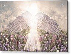 I Am Grateful Acrylic Print by David M ( Maclean )