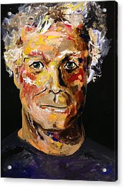 Acrylic Print featuring the painting I Am Me Am I  by Alan Lakin