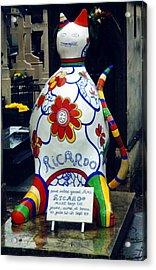 I Am Not A Cat I Am Ricardo Menon Acrylic Print