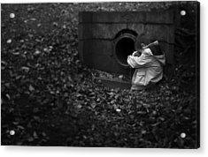 I Am Scared Acrylic Print by Svetlana Sewell