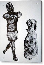 I Am The Champion Acrylic Print by Aquira Kusume