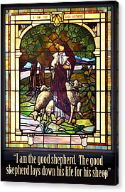I Am The Good Shepherd Acrylic Print