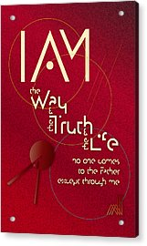I Am The Way Acrylic Print