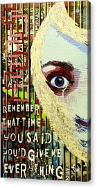 I Appear Missing Acrylic Print by Bobby Zeik