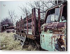 I Carried My Weight  Acrylic Print by Off The Beaten Path Photography - Andrew Alexander