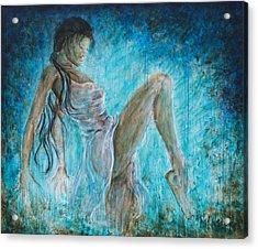I Dance Alone Acrylic Print by Nik Helbig
