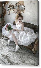 I Do Acrylic Print by Deena Otterstetter