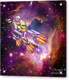 I Dream Of Rockethorse Acrylic Print