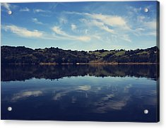 I Float On Anyway Acrylic Print by Laurie Search