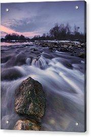 I Follow River Acrylic Print by Davorin Mance