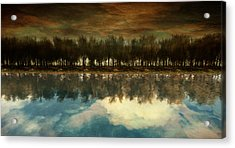 I Forget What Eight Was For Acrylic Print by Whiskey Monday