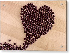 I Heart Chocolate Acrylic Print