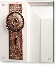 I Just Love These Old Door Knobs! Acrylic Print