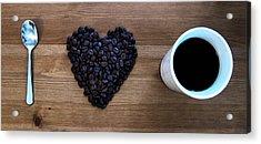 I Love Coffee Acrylic Print by Nicklas Gustafsson