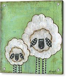 I Love Ewe So Much Acrylic Print by Alli Rogosich