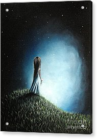 I Love Her So Much I Cry By Shawna Erback Acrylic Print by Shawna Erback