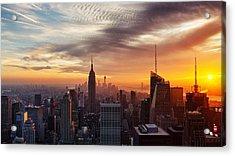 I Love New York Acrylic Print by Maico Presente