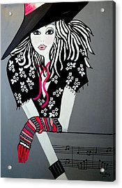 I Love Rock And Roll Acrylic Print