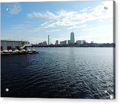 I Love That Dirty Water Acrylic Print by Mike Greco