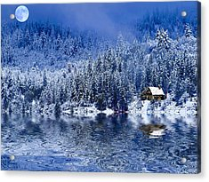 I Loved You In Winter Acrylic Print