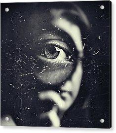 I Acrylic Print by Oren Hayman