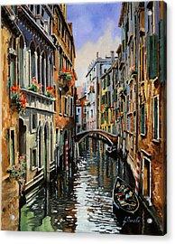 I Pali Rossi Acrylic Print by Guido Borelli