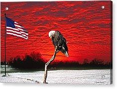 I Pledge Allegiance Acrylic Print
