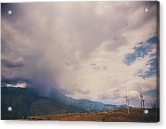 I Predict Rain Acrylic Print by Laurie Search