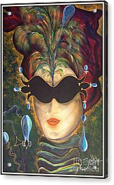 I Put A Spell On You... Acrylic Print by Jolanta Anna Karolska