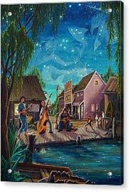 I See A Good Moon Arising Acrylic Print
