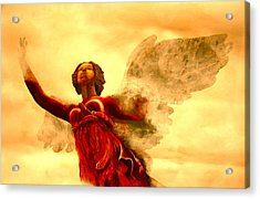 I See My Angel Coming Forth Acrylic Print