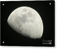 I See The Moon And The Moon Sees Me Acrylic Print by Janice Westerberg