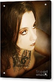 Acrylic Print featuring the photograph I Still Remember The Night He Made Me Feel Like Cleopatra by Heather King