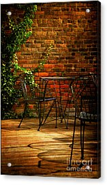 I Waited For You Acrylic Print by Lois Bryan