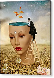 I Want To Look Inside Your Head Acrylic Print