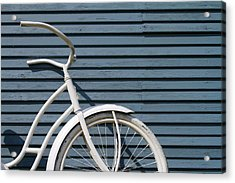 I Want To Ride My Bicycle Acrylic Print by Chuck De La Rosa