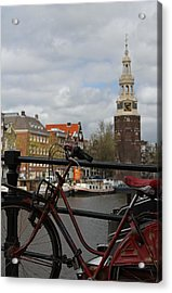 I Want To Ride My Bicycle  Acrylic Print by Juergen Roth