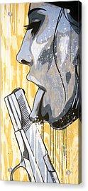 I Was A Teenage Hand Model Acrylic Print by Bobby Zeik