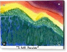 I Will Survive II Acrylic Print