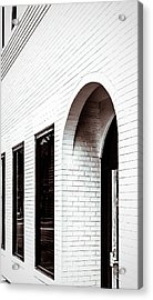 I Woke Up In A Soho Doorway Acrylic Print by Wade Brooks