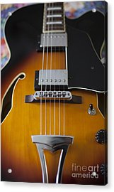 Ibanez Hollow Body Acrylic Print