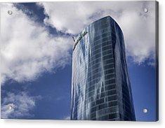 Iberdrola Tower Acrylic Print by Pablo Lopez
