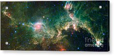 Ic 2177-seagull Nebula Acrylic Print by Science Source