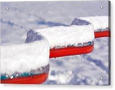Ice And Snow-5621 Acrylic Print