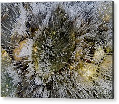 Ice Bubbles Acrylic Print
