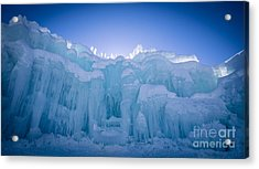 Ice Castle Acrylic Print by Edward Fielding
