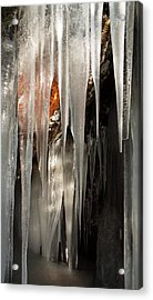 Ice Cave Acrylic Print