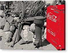 Ice Cold Drink Acrylic Print by Leticia Latocki